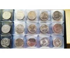Продам юбилейные монеты СССР