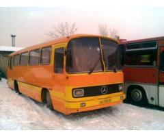 ретро-автобус Мерседес Бенц 0302 1974 г.в.
