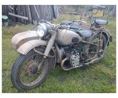 Продам мотоцикл м72м 1959гв